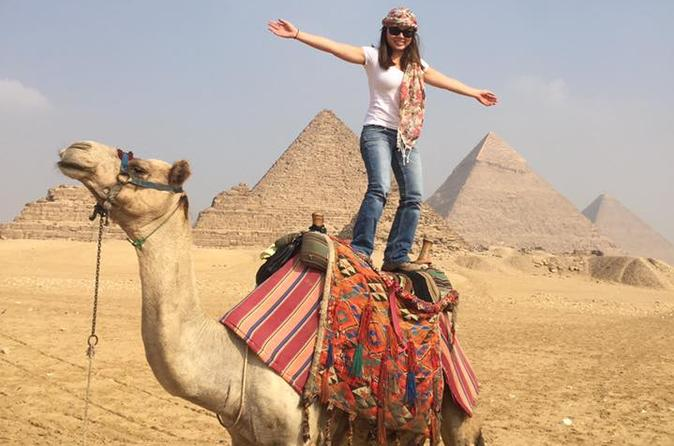 Camel or horse riding at the Pyramids from Cairo