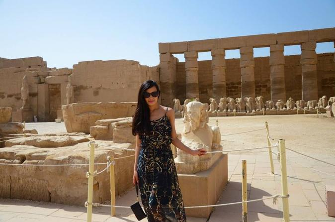 full day guided trip East bank Karnak and Luxor temple in Luxor hotels