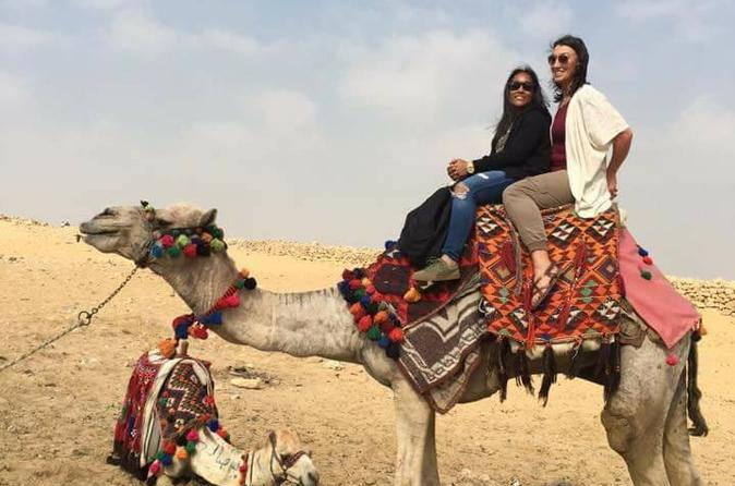 Horse Ride in Desert: Day Trip at 6 am sunrise or 5 pm sunset from Cairo or Giza hotels