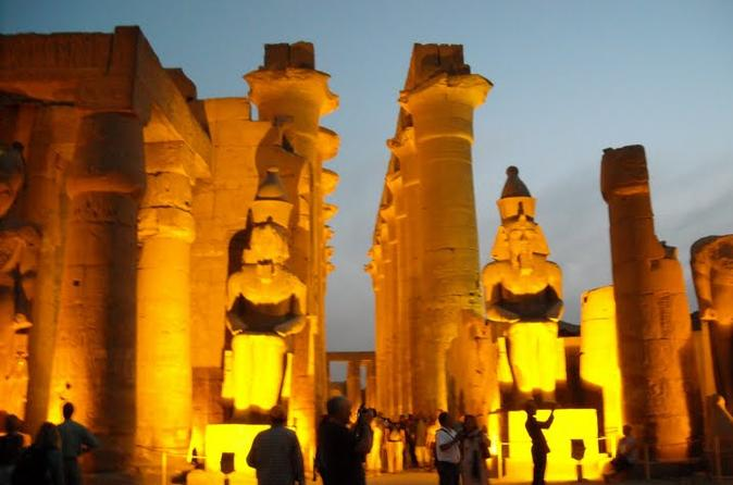 night-show sound and light show at Karnak temple in Luxor ctiy
