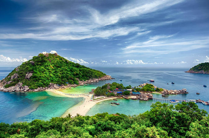 Full-Day Trip to Koh Tao and Koh Nang Yuan from Koh Samui by Speedboat