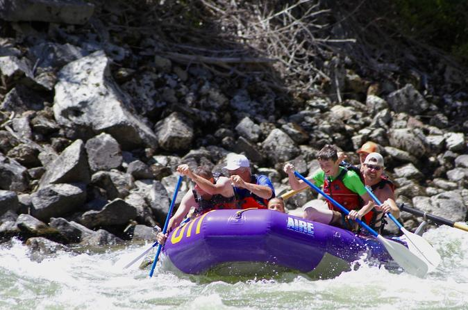 Payette River Half-day Rafting and Kayaking Trip