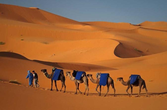 Shared Desert Tour from Fes to Merzouga with Overnight in Berber Tent