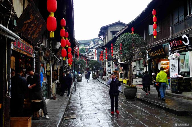 All Inclusive Private Day Tour to Ciqikou and Three Gorges Museum plus Shopping District