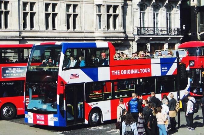 London Combo: Hop-On Hop-Off Tour and Madame Tussauds Entry Ticket