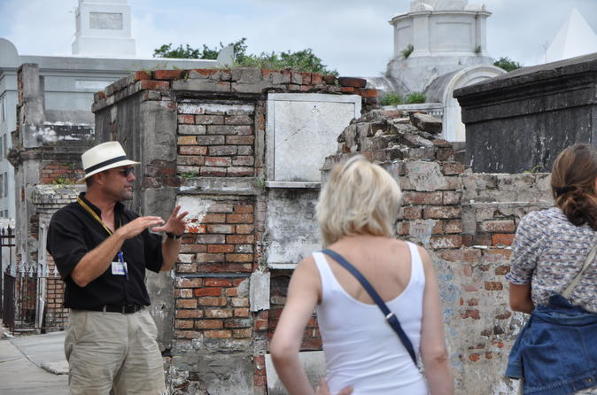 Bare Bones Tour of New Orleans' Oldest Cemetery