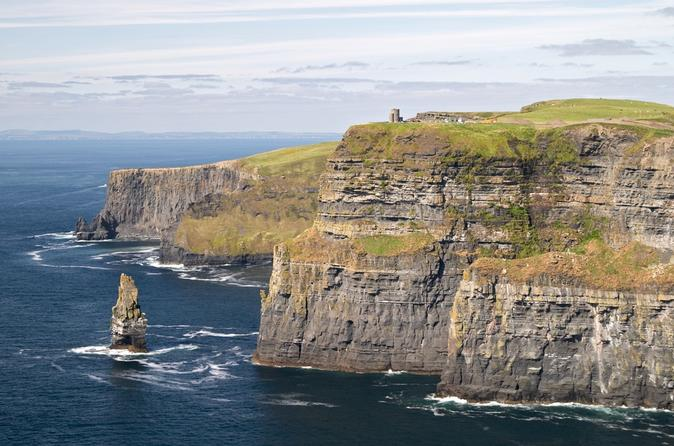 Limerick, Cliffs of Moher, Burren and Galway Bay Rail Tour from Dublin