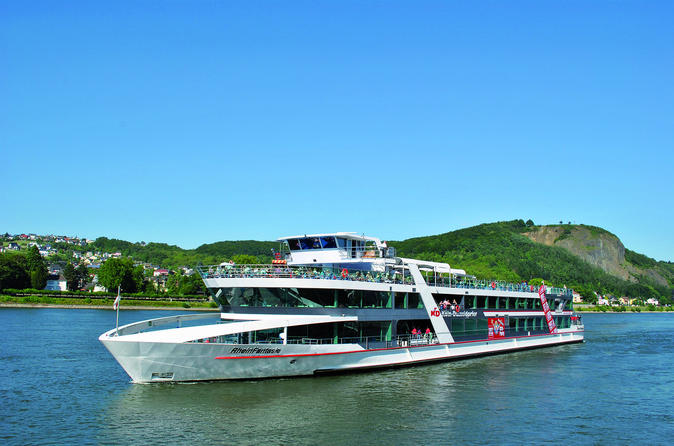 Rhine River Cruise to Konigswinter with Sea Life Visit or Drachenfels Cliff