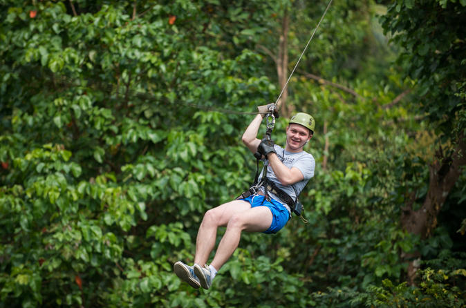Rainforest Canopy Tour in Pattaya