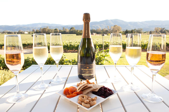 6 Hour Sparkling Wine Tour - Napa Valley