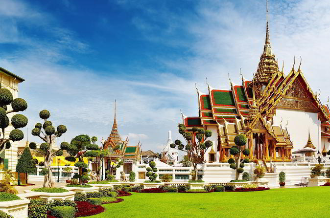 Half-Day Grand Palace Tour Including Emerald Buddha from Bangkok