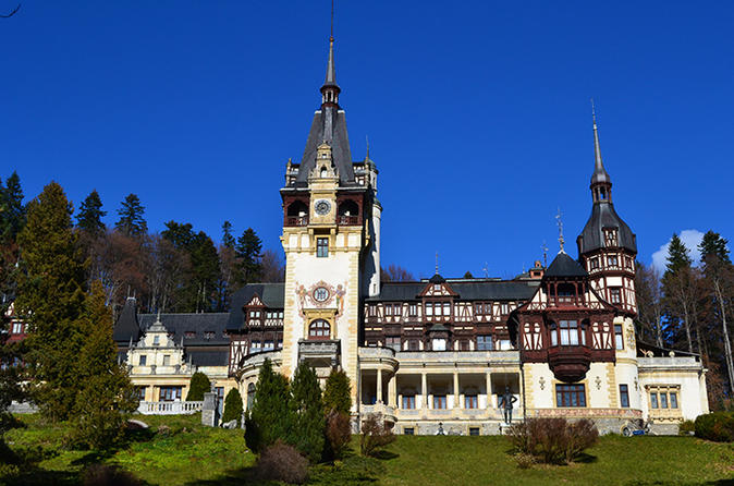 Private Day Tour to Peles and Bran Castles bonus Brasov Medieval City from Bucharest