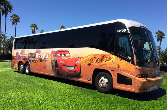Disneyland Resort Express: Airport Transfer between John Wayne Airport and Anaheim Resort Area