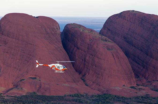 Ayers Rock Helicopter Tour to Uluru, Kata Tjuta and Lake Amadeus: 55-minute flight image