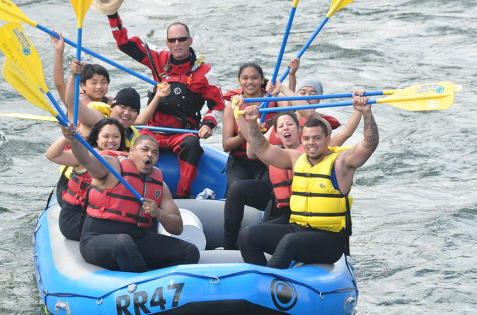 Wenatchee Class 2 River Rafting