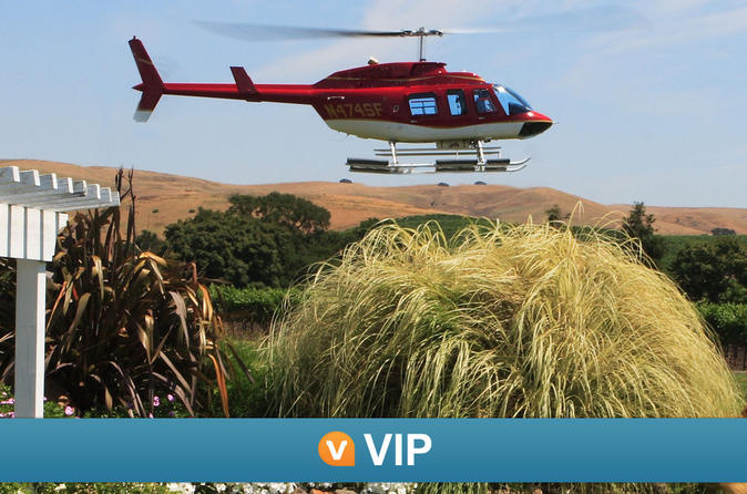 Viator VIP: Napa by Helicopter with Wine Tasting and Food Pairing