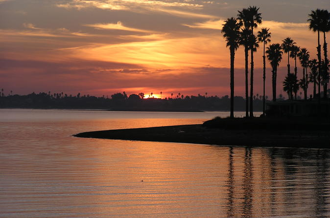 2 Hour Sunset Pontoon Cruise for up to 6 People