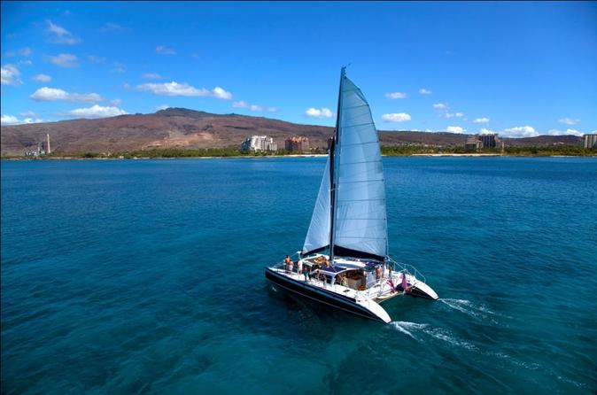 Catamaran Sail and Snorkel on Oahu