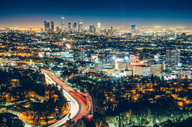 Los Angeles City Tour By Night