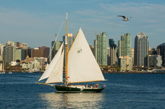 Classic Sailboat Afternoon Harbor Tour