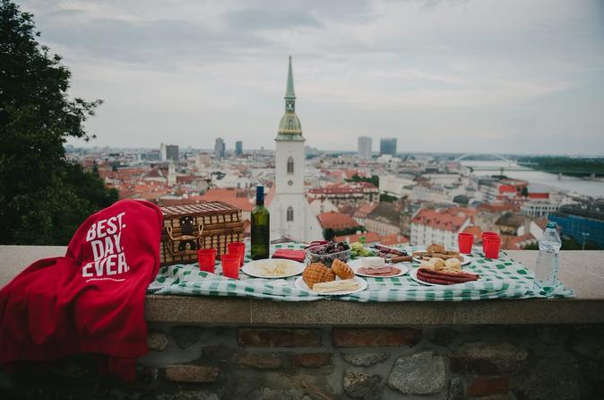 Bratislava Local Secrets with Picnic and Trolleybus