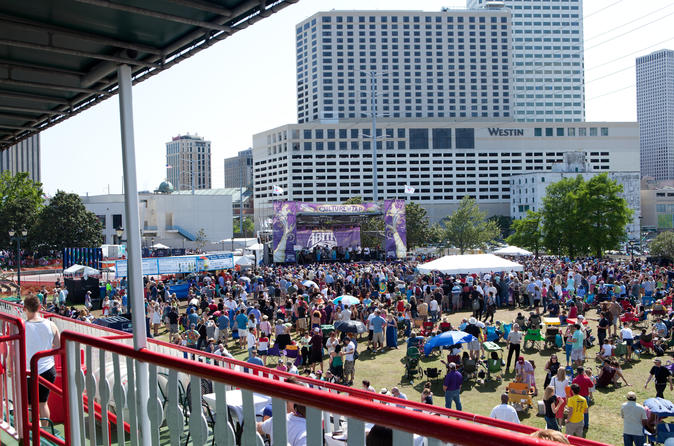 French Quarter Festival VIP Experience in New Orleans