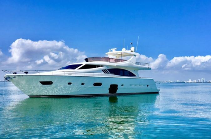 75' Ferretti Motor Yacht Rental in Miami