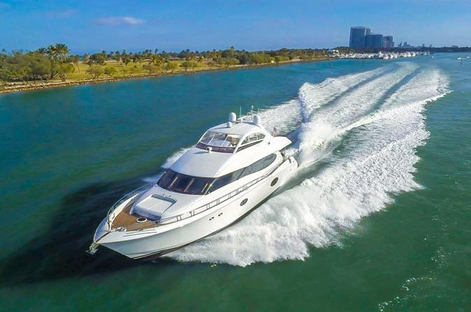 84' Lazzara Boat Rental with Jet Ski in Miami
