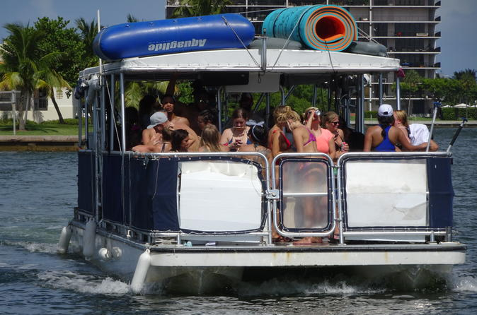 Four Hour Private Party Charter for 20 guests in Miami & Miami Beach