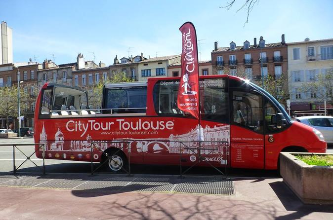 toulouse sightseeing bus tour tours and passes traveltoe. Black Bedroom Furniture Sets. Home Design Ideas
