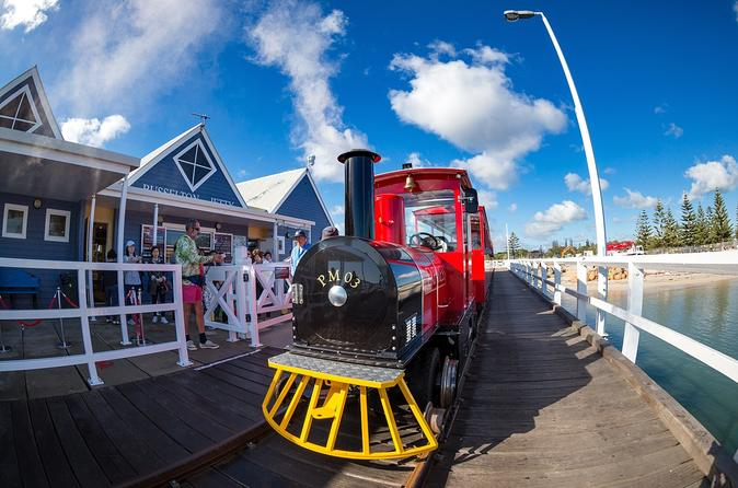 Busselton Jetty Train and Underwater Observatory 2-Hour Tour