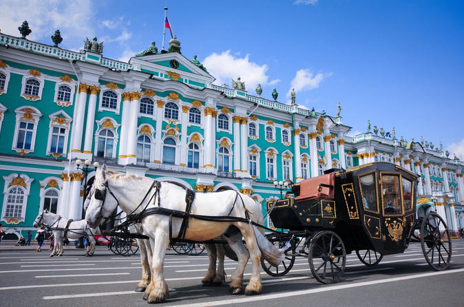 State Hermitage Museum Small-Group Walking Tour