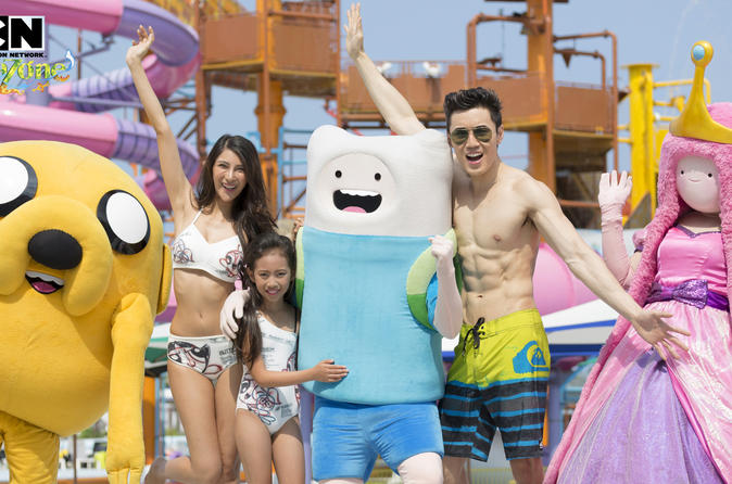 1-Day Group Pass: Cartoon Network Amazone in Pattaya with Transport and Cabana