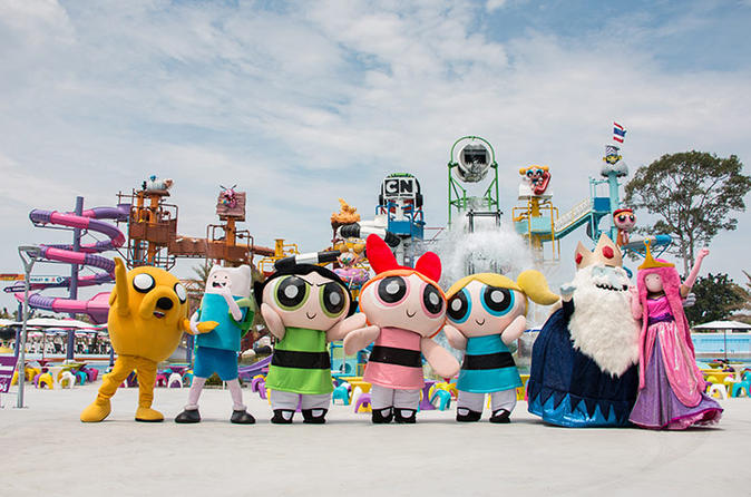 1-Day Pass: Cartoon Network Amazone with Hotel Transfer in Pattaya