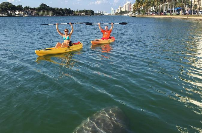 1 Hour Miami Beach Single Person Kayak Rental