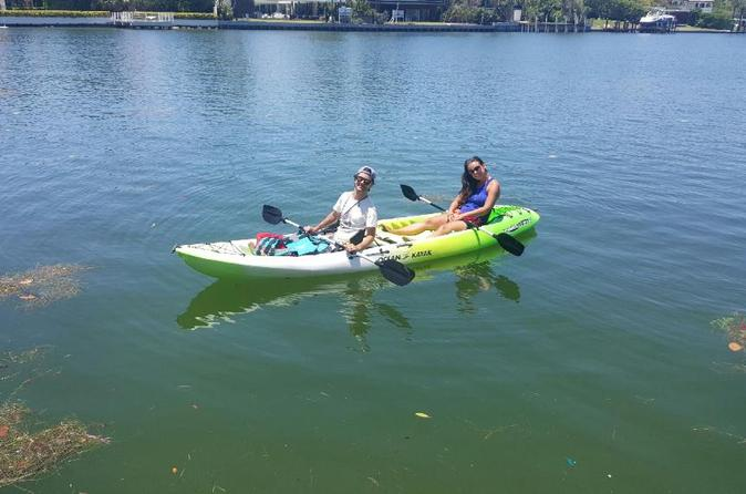 2 Hour Miami Beach Double Kayak Rental