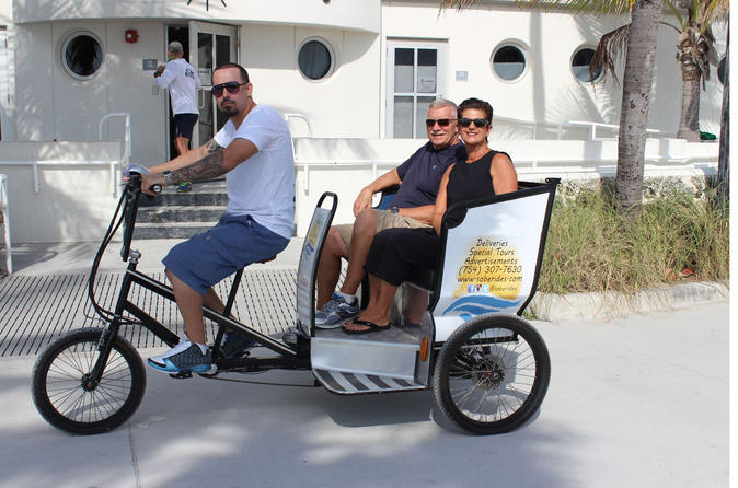 Miami Beach Art Deco Pedicab Tour
