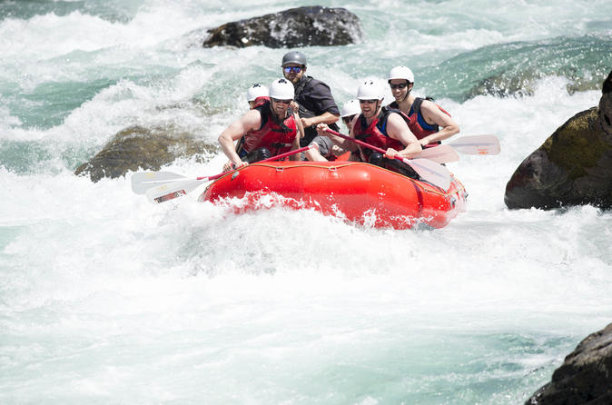 Skykomish River Whitewater Rafting (Class 4-5)