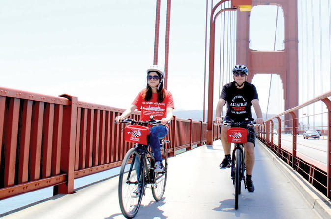 3-Hour Bike Tour from San Francisco to Sausalito via the Golden Gate Bridge