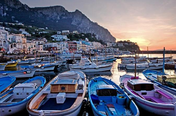 The Island of Capri by Boat