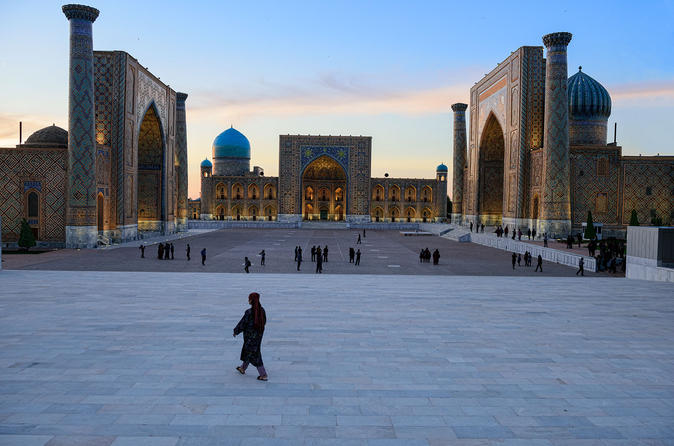 One Day Crossroad of Cultures Samarkand Group Tour