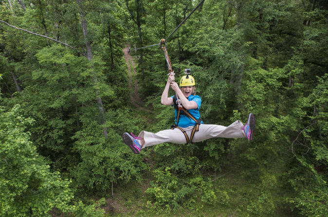 1.5-Hour Zipline Tour from Nashville