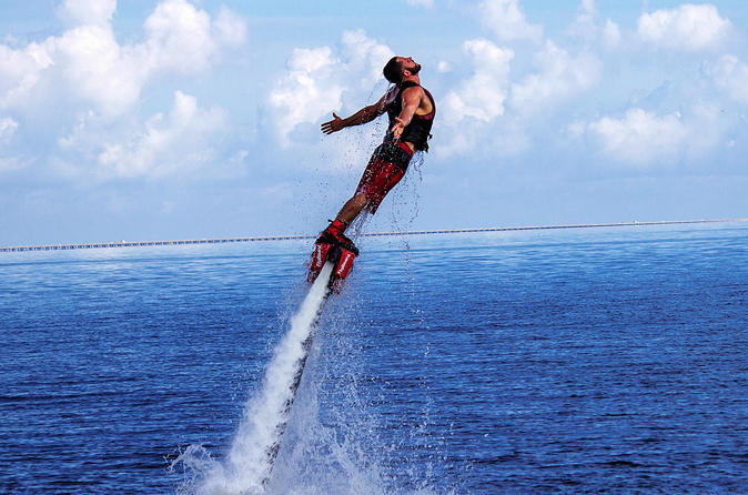 1-Hour New Orleans Fly-Boarding Experience on Party Barge for Up to Three People