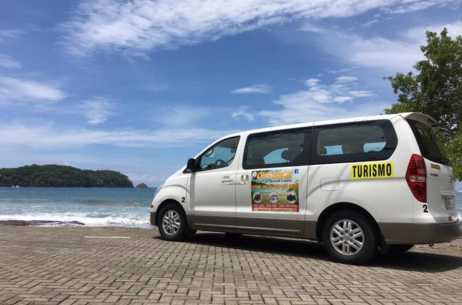 Shared Shuttle Samara or Carrillo Beach to LIR Airport