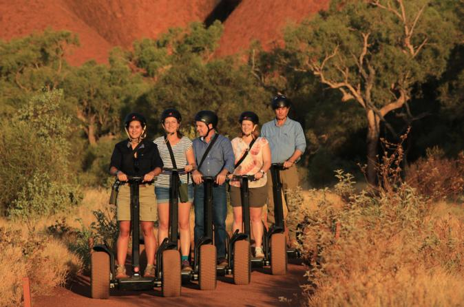 Uluru (Ayers Rock) Segway Sunrise Tour