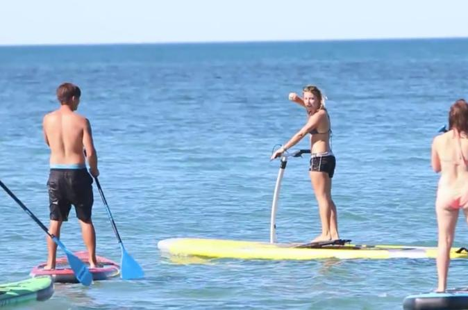 Exmouth Stand Up Paddle Board Hobie Eclipse and Kayak Hire