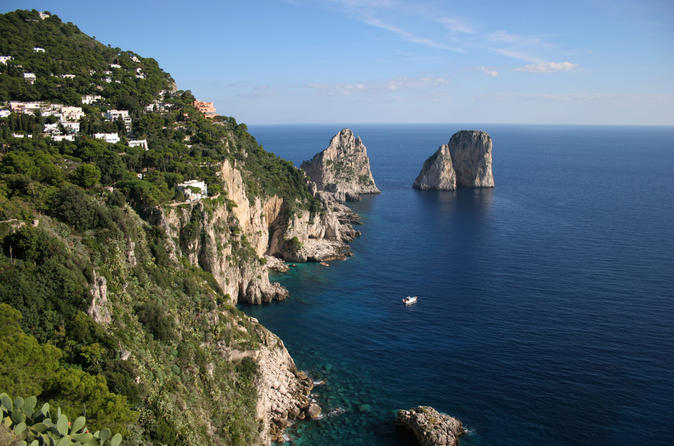 Capri Island: Day Trip from Rome