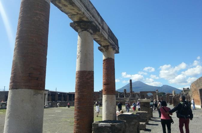Pompeii Ruins All Day Tour from Rome