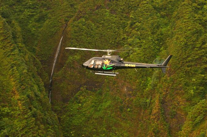 60-minute-oahu-helicopter-tour-ali-i-sacred-falls-in-oahu-140451