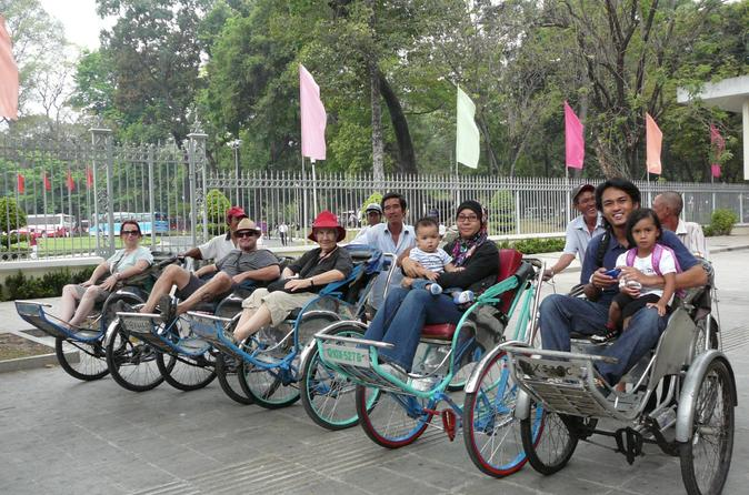Ho Chi Minh Cyclo and Walking Small Group Adventure Tour